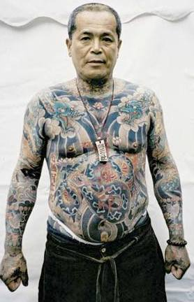 Yakuza-Tatoo