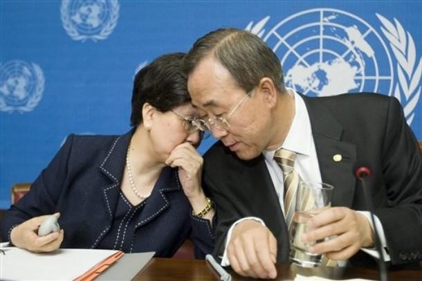 Margaret Chan, Ban Ki-moon