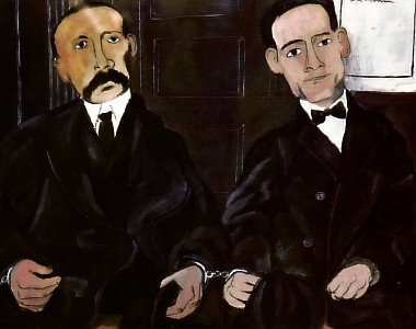 Ben Shahn - The Prisoners Sacco and Vanzetti - 1931-32