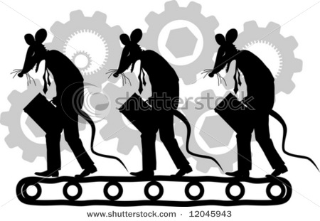 stock-vector-vector-silhouette-cartoon-graphic-depicting-a-rats-dressed-as-businessmen-on-a-treadmill-concept-12045943
