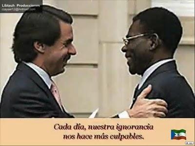 GUINEA ECUATORIAL AZNAR Y OBIANG
