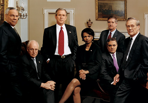 dec-2001-powell-cheney-w-condi-card-tenet-rummy