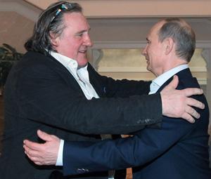 Gerard Depardieu, Vladimir Putin