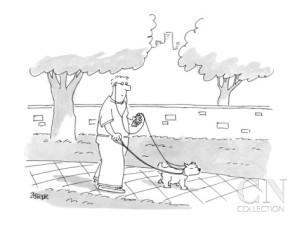 jack-ziegler-dog-walker-and-dog-sharing-earphones-and-ipod-cartoon