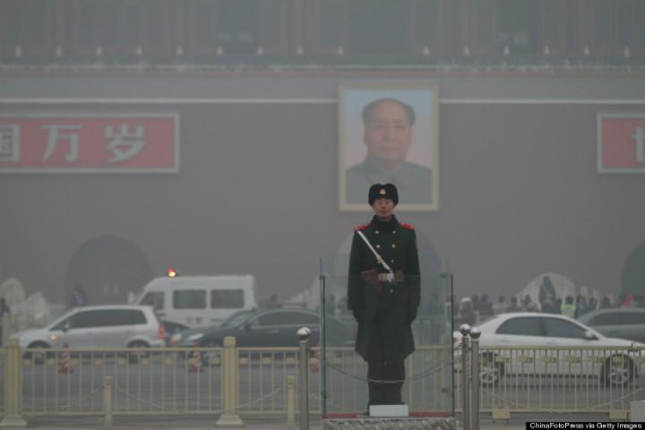 Heavy Smog Hits Beijing