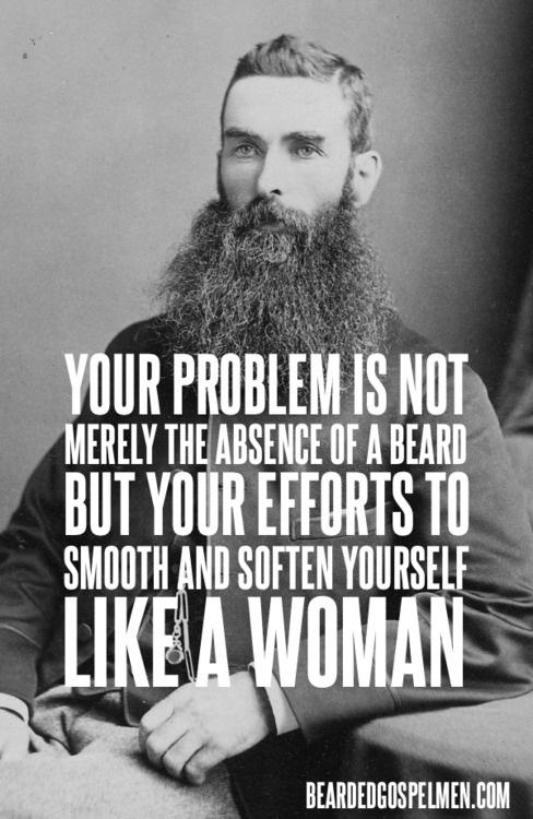 gospel beard