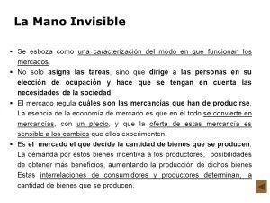 mano invisible