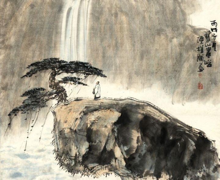 zhuangzi-contemplates-waterfall1