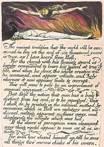 William Blake Doors of Perception