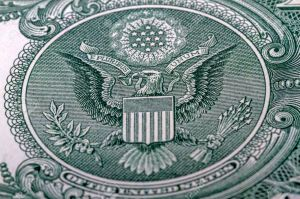American Eagle Great Seal from the back of a one dollar bill